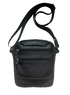 Компактная кожаная сумка-барсетка на 7 отделений